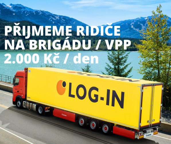 Řidič/ka kamionu - brigáda/VPP